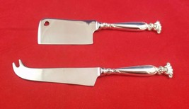 Romance of the Sea by Wallace Sterling Silver Custom Made Cheese Serving Set - $116.10