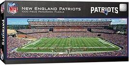 MasterPieces NFL New England Patriots Stadium Panoramic Jigsaw Puzzle, 1... - $19.99
