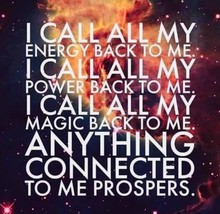 "FREE W ORDERS NOV 24 -29 ALBINA ""CALLS"" POWER & PROSPERITY BACK TO YOU M... - $0.00"