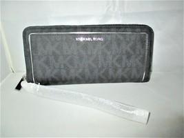 Michael Kors Frame Out Item MK Signature Travel Continental Wallet Wrist... - £94.35 GBP
