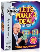 Imagination TV Game Show Let's Make a Deal Monty Hall Interactive DVD - $29.95