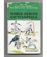 Vintage 1961 World Series Encyclopedia Paperback Book  - $4.95