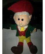 Vintage 1997 Keebler Elf Ernie Promo Plush Cookie Advertisement rare HTF - $9.89