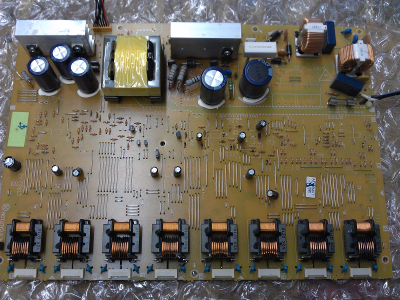 A71G0MUT MUT Inverter Board From Sylvania LC370SS8 LCD TV