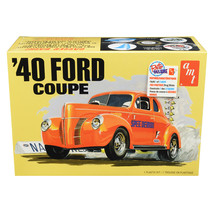 Skill 2 Model Kit 1940 Ford Coupe 3 in 1 Kit 1/25 Scale Model by AMT AMT... - $59.66