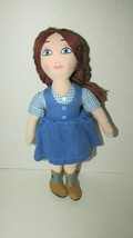 Madame Alexander Dorothy cloth plush fabric doll Wizard Legends of Oz 2014 - $12.86