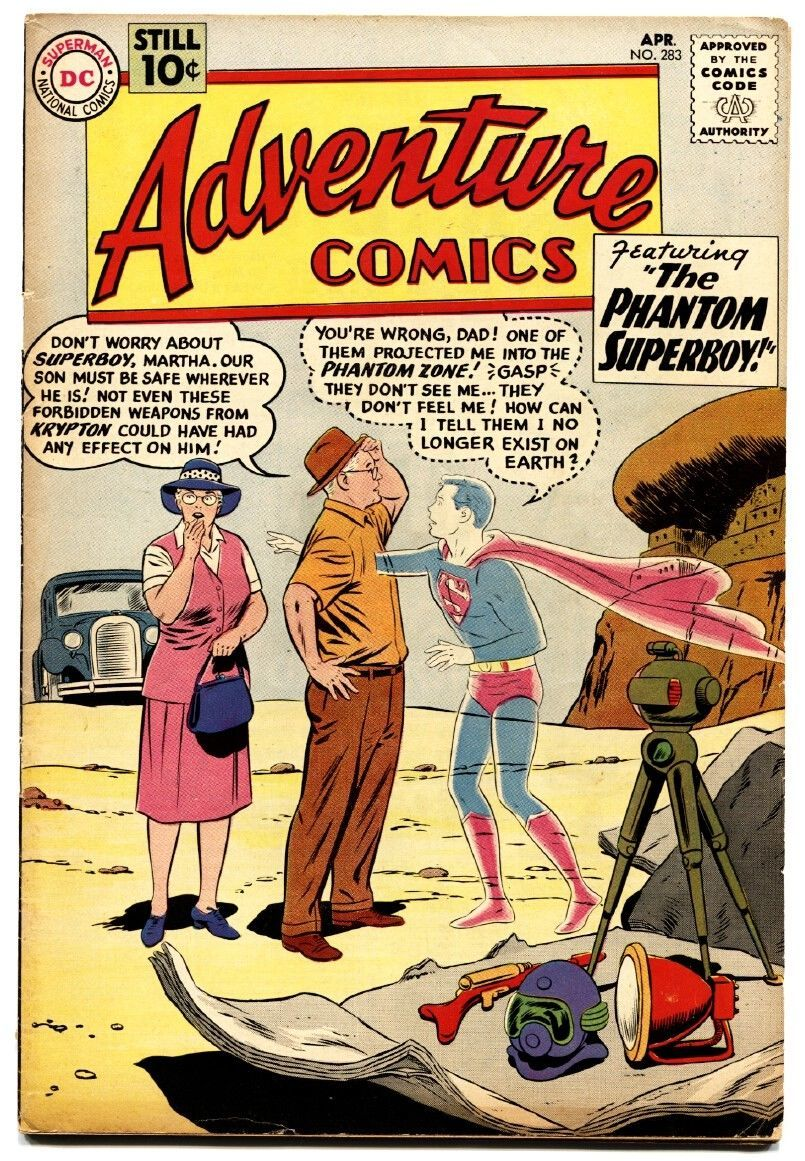 Adventure Comics #283 First General Zod-First Phantom Zone nice copy