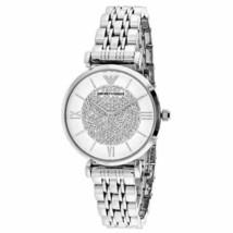 Emporio Armani AR1925 Silver Glitz Wrist Watch for Women - $108.90