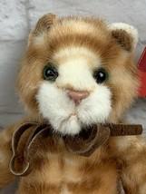 "Russ Berrie Tabatha 8"" Cat Plush Doll Tabby Kitty 1847 New NOS - $12.16"