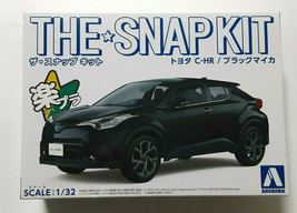 Plastic model TOYOTA CHR Black Mica THE SNAP KIT AOSHIMA 1/32 Car Toy - $55.88