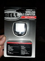 BELL wireless cycle computer Dashboard 300 14 Function Bike Speed & Distance - $9.89