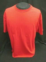 Hanes Beefy T Heavy Weight~ 100% Cotton Red Crewneck Tee T-Shirt~Size Xl ~Nwot - $9.40