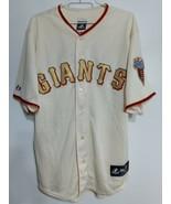 Size XL, Majestic Baseball Jersey San Francisco Giants 2010 World Series  - $39.55