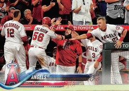 2018 Topps #119 Angels Team Card - $0.99