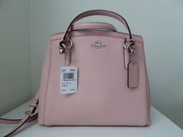 New Coach Crossgrain Minetta Handbag Satchel Crossbody Midnight Blush - ₹11,142.06 INR