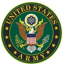 US Army 6'' Sticker Military Armed Forces  - $13.85