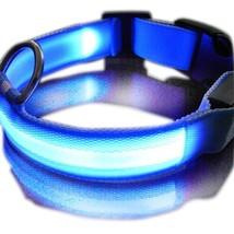 SUKRAGRAHA New Super Bright Nylon LED Dog Night Safety Collar Flashing Light up - $14.71