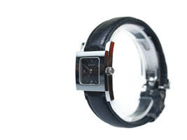Auth GUCCI 7900P Black Dial Stainless Steel Leather Band Quartz Women's ... - $250.78 CAD