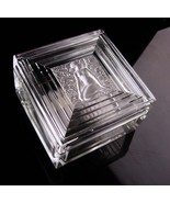 1930s Lalique Nude box - Erotic art deco Duncan collection - signed crys... - $850.00