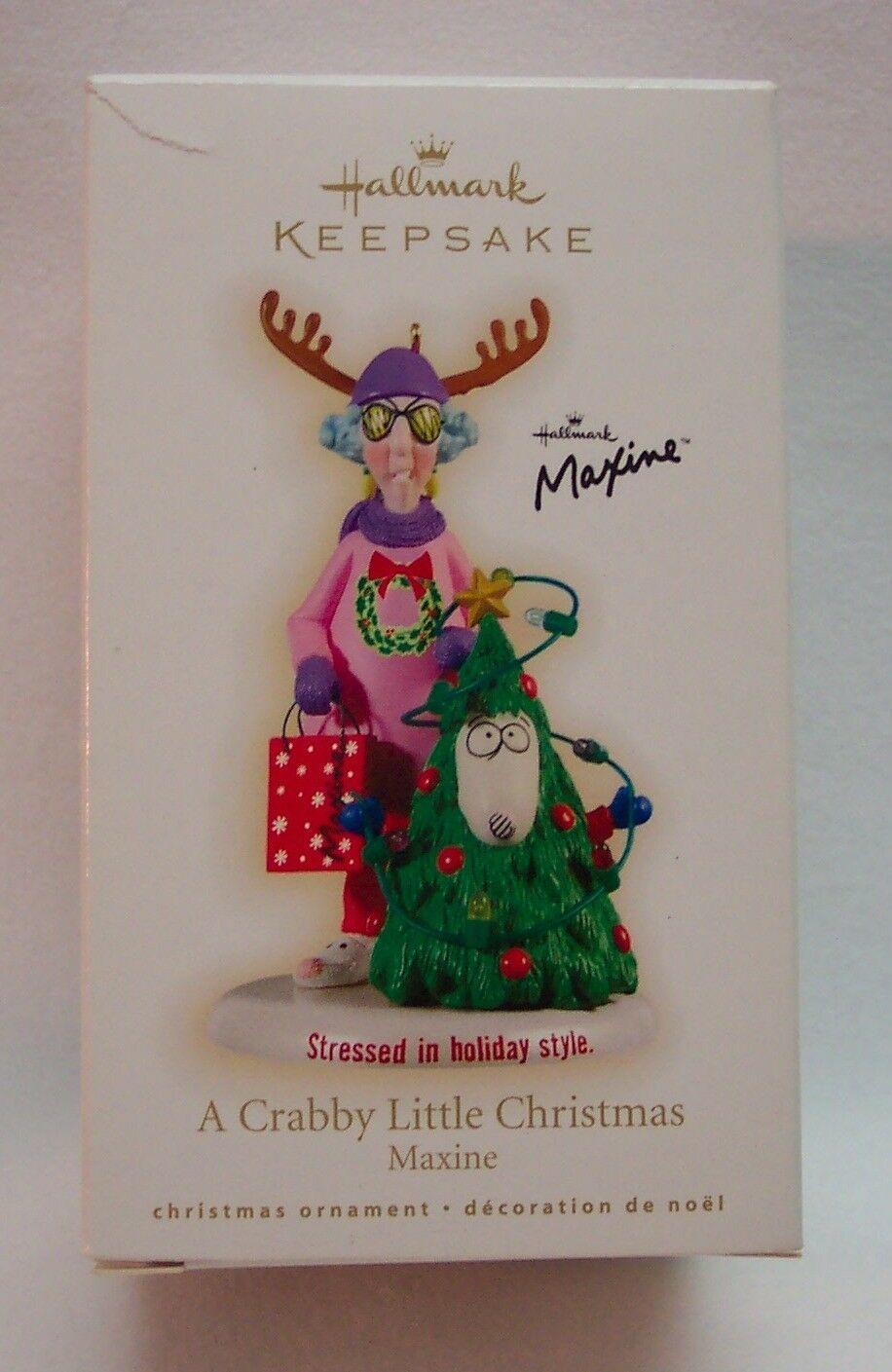 MAXINE A Crabby Little Christmas Hallmark Keepsake ...