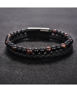 Natural Stone Men Bracelets for Men - Anniversary Gifts - Jewelry Bracelets - $19.99