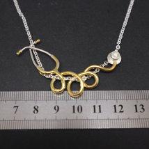Silver Stethoscope Nurse Necklace image 5