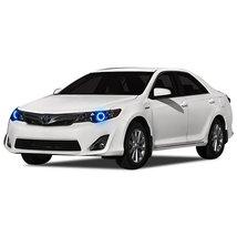 FLASHTECH for Toyota Camry 12-14 Blue Single Color LED Halo Ring Headlig... - $136.22