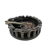 Things2Die4 Motorhead Motorcycle Ashtray, Dented Box - $11.29