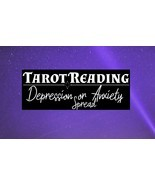 Tarot Reading: Depression or Anxiety Spread - Digging Deeper - $45.00