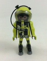 Playmobil 4747 Space Building Toy Yellow Astronaut Figure Piece Part - $9.85