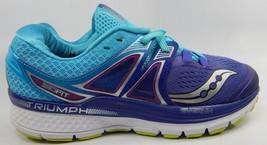 Saucony Triumph ISO 3 Running Shoes Women's Sz US 8 M (B) EU 39 Purple S10346-1