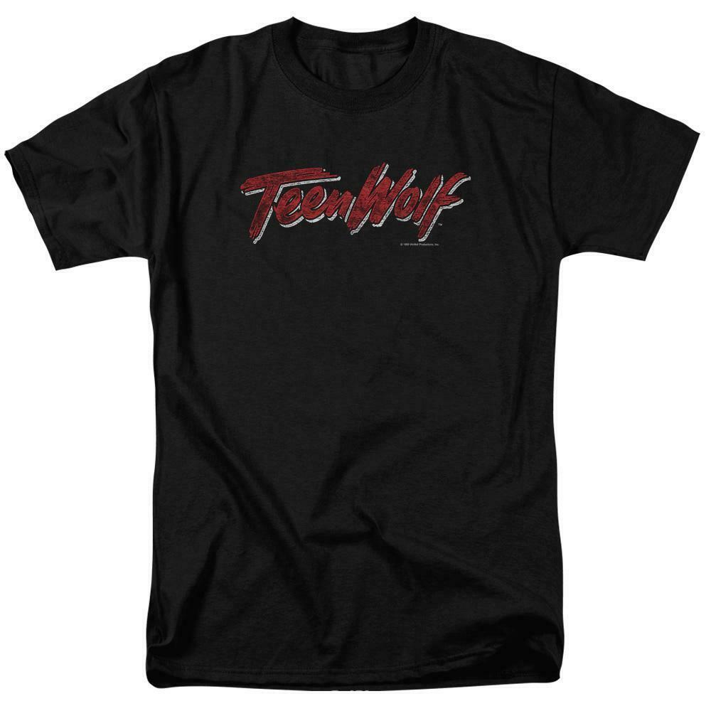 Teen Wolf logo t-shirt classic 80's high school movie graphic tee MGM268