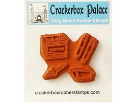 Crackerbox Palace Automobile Parts Rubber Cling Stamp image 2