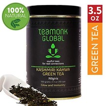 Nilgiris Kashmiri Kahwa Green Tea, 3.5oz 50 Cups | Nourishes Glow from W... - $16.40