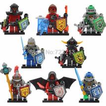8pcs/set Lego Nexo knights CLay Macy Halbert Beast Master Lavaria Minifigures - $14.50