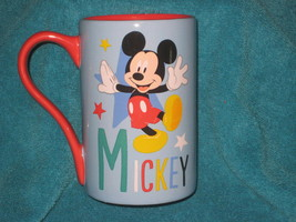 Disney Store Mickey Mouse CUP/ Mug. Brand New. Cute! - $19.79