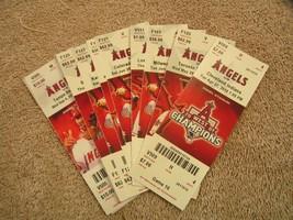 MLB 2010 California Angels Full Unused Ticket Stubs $3.99 Each! - $3.99