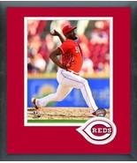 Amir Garrett 2018 Cincinnati Reds Action -11x14 Team Logo Matted/Framed ... - $43.55
