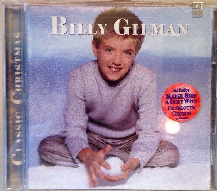 NEW Classic Christmas by Billy Gilman (Country Vocals) (CD, Sep-2001, Epic)