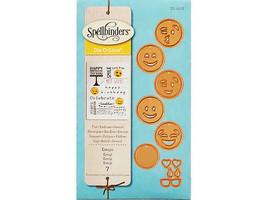 Spellbinders D-Lites Emojis Die Set #S1-007