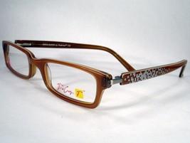 Vera Cruz Boca Raton Brown Women Eyeglasses Frames Designer New Optical - $58.41