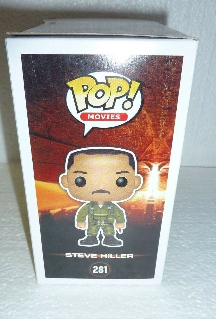 Funko Pop Movies Independence Day Steve Hiller Vinyl Figure #281 New