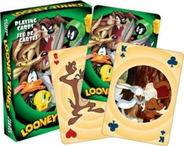 Looney Tunes Cast Animation Art Illustrated Poker Playing Cards Deck NEW... - $5.94