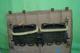 07-12 Nissan Versa Center Upper Dash Vent Bezel Trim Panel Tan/Brown image 10