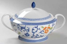 """RALPH LAUREN Round OPEN Vegetable BOWL 'Mandarin Blue"""" MULTI COLOR NEW - $119.90"""