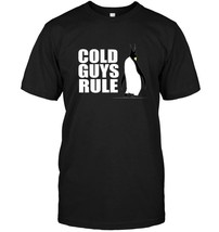 Penguin Shirt Cold Guys Rule Funny Saying Penguin Gift - $17.99+