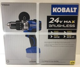 New Kobalt 1/2-in 24-Volt Max-Volt Lithium Ion (Li-ion) Variable Speed B... - $164.99