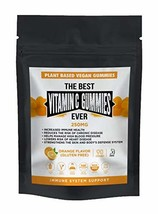 The Best Vitamin C Gummies Ever Vegan Plant Based Gluten & Gelatin Free Non GMO