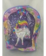 """Lisa Frank Markie Unicorn Mini Backpack 10"""" Sparkle - $116.96"""