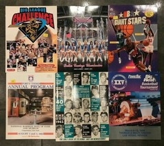 Lot of 6 Assorted Vintage Sports Basketball & Baseball League Magazines - $16.04